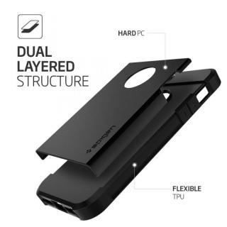 【iPhone SE/5s/5ケース】Spigen タフ・アーマー 耐衝撃ケース ブラック iPhone SE/5s/5_2