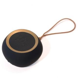 ウーファー搭載ポータブルスピーカー BeYo(ビーヨ) ブラック×ゴールド