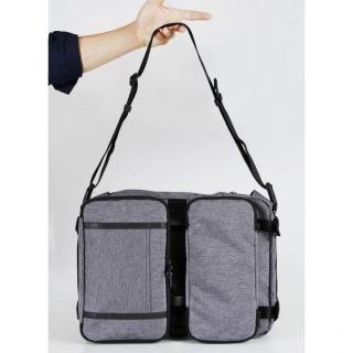 7つの使い方が出来る7Days Bag シルバー_5