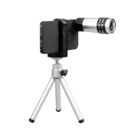 iPhone 5用望遠レンズキット ブラック
