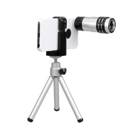 iPhone 5用望遠レンズキット ホワイト