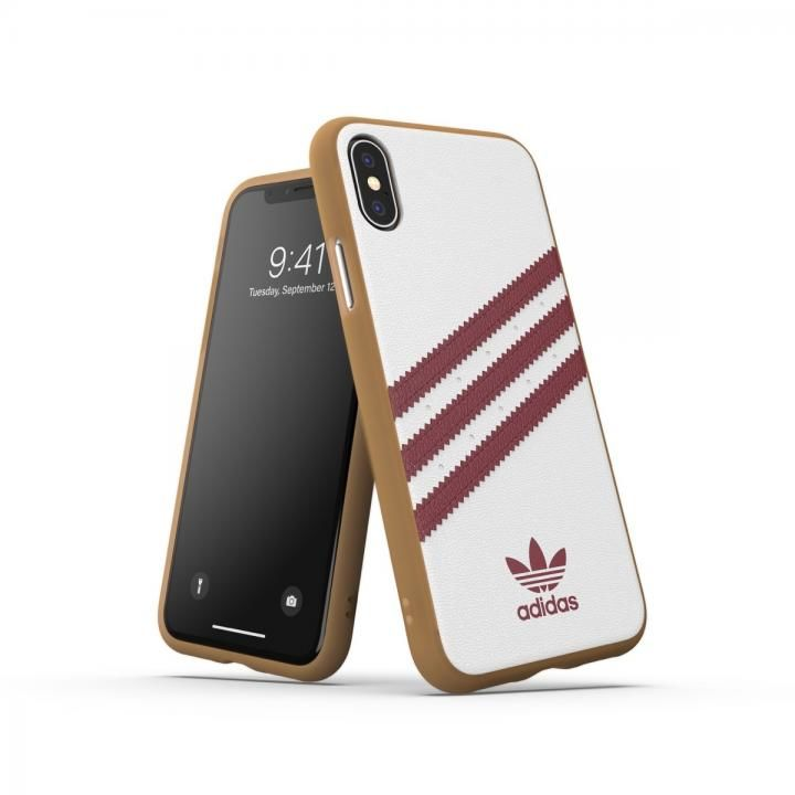 iPhone XS/X ケース adidas OR-Moulded Case SAMBA SS19 Collegiate Burgundy iPhone XS/X_0