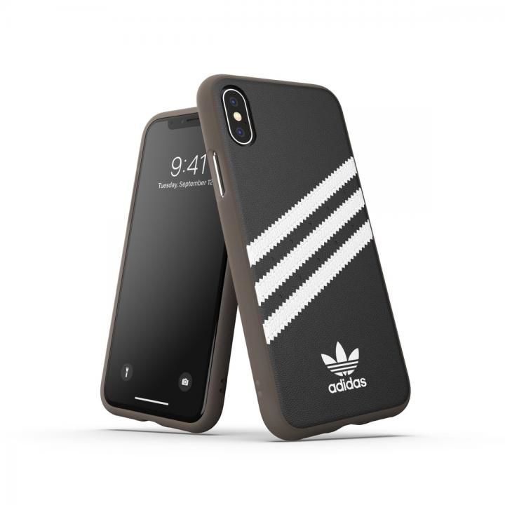 iPhone XS/X ケース adidas OR-Moulded case PU Gumsole SS19 Black/White iPhone XS/X_0