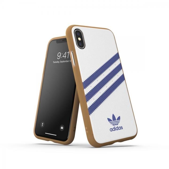 iPhone XS/X ケース adidas OR-Moulded Case SAMBA SS19 Collegiate Royal iPhone XS/X_0