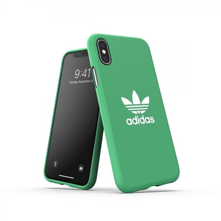 iPhone XS/X ケース adidas OR-Moulded Case CANVAS SS19 Green iPhone XS/X_0