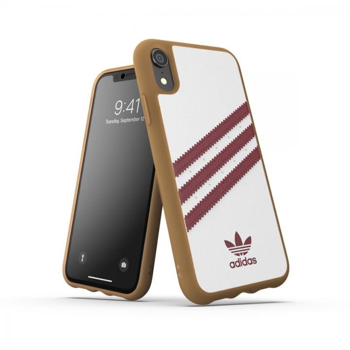 iPhone XR ケース adidas OR-Moulded Case SAMBA SS19 Burgundy iPhone XR_0