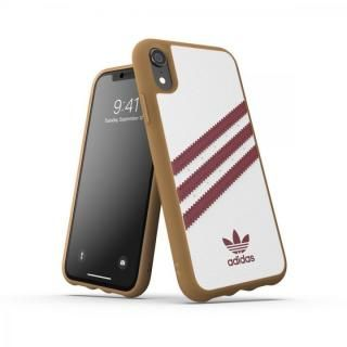 iPhone XR ケース adidas OR-Moulded Case SAMBA SS19 Burgundy iPhone XR