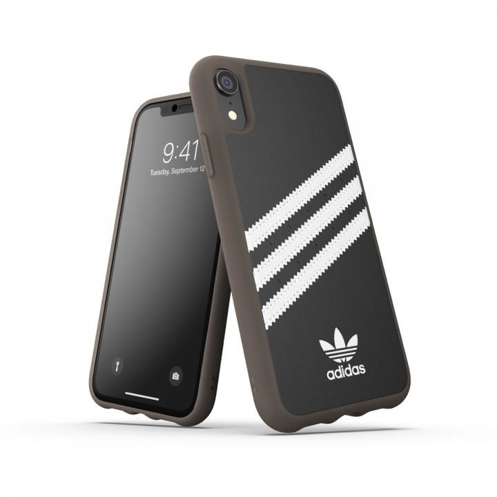 iPhone XR ケース adidas OR-Moulded case PU Gumsole SS19 Black/White iPhone XR_0
