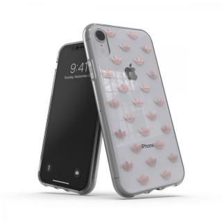 iPhone XR ケース adidas OR-Clear Case SS19 Rose Gold iPhone XR