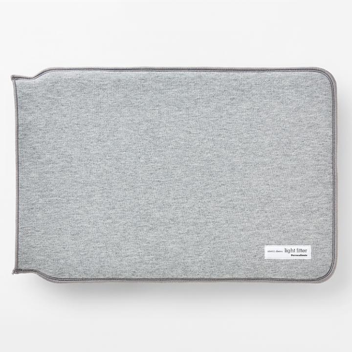 13インチMacBookケース light fitter グレイ