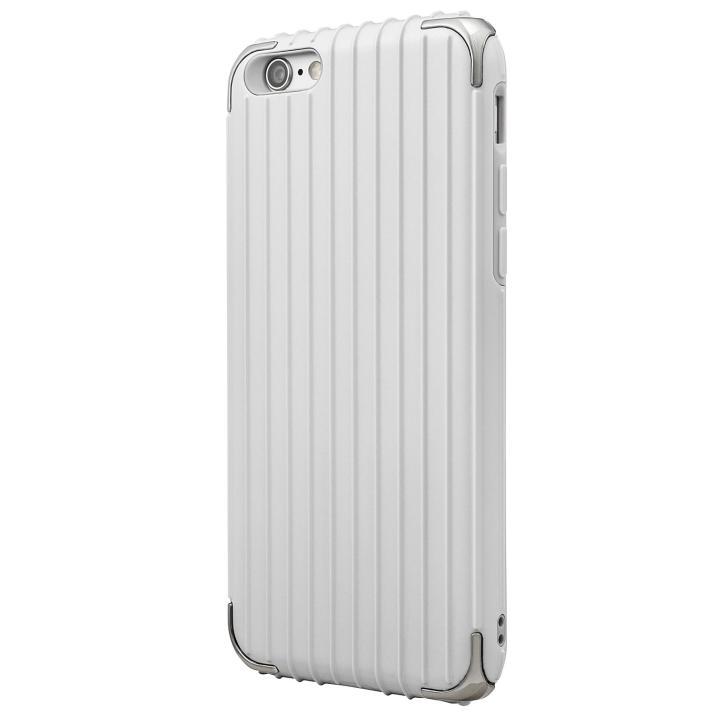 GRAMAS COLORS Rib ハイブリッドケース ホワイト iPhone 6s/6【7月下旬】