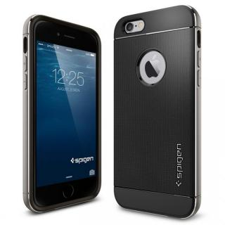 【iPhone6ケース】[AppBank Store限定]Spigen スターターセット スペースグレイ iPhone 6_6