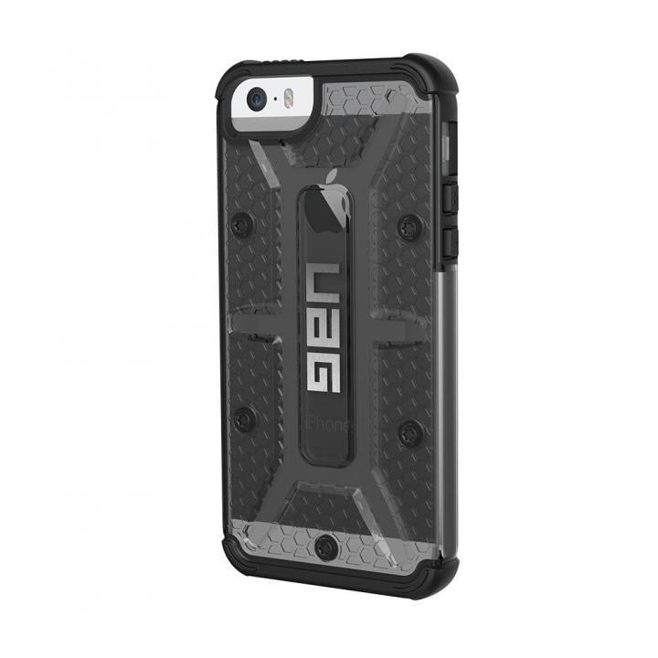 iPhone SE/5s/5 ケース UAG 耐衝撃コンポジットケース クリアグレー iPhone SE/5s/5_0
