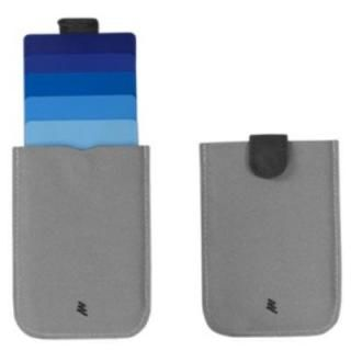 DAX プルタブ式カードケース ブルー