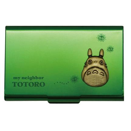 スタジオジブリ作品 となりのトトロ メタルカードケース グリーン_0
