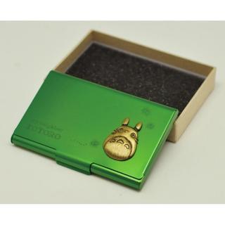 スタジオジブリ作品 となりのトトロ メタルカードケース グリーン_1
