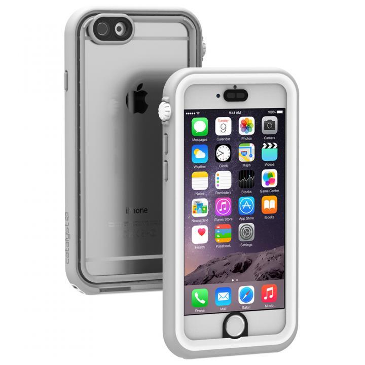 【iPhone6ケース】Catalyst(カタリスト) 完全防水ケース CT-WPIP144  ホワイト iPhone 6_0