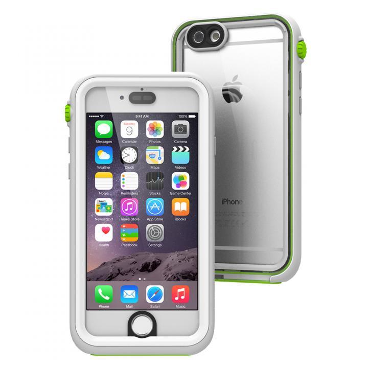 【iPhone6ケース】Catalyst(カタリスト) 完全防水ケース CT-WPIP144  ホワイトグリーン iPhone 6_0