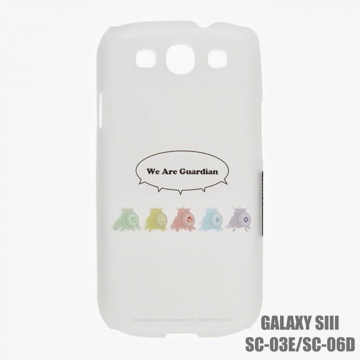 GALAXY Sα SC-03E パズドラ ハードケース We are Guardian_0