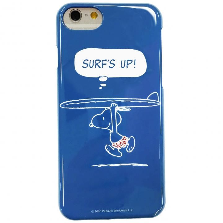 iPhone7 ケース ピーナッツ ハードケース サーフズアップ iPhone 7_0