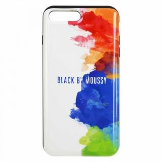 iPhone8 Plus/7 Plus ケース BLACK BY MOUSSY スプレーホワイト iPhone 8 Plus/7 Plus