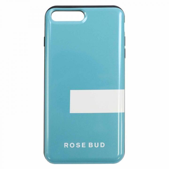 【iPhone8 Plus/7 Plusケース】ROSEBUD シェルケース LINEエメラルド iPhone 8 Plus/7 Plus_0