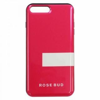 iPhone8 Plus/7 Plus ケース ROSEBUD シェルケース LINEピンク iPhone 8 Plus/7 Plus