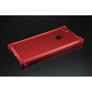ギルドデザイン ソリッドバンパー  マットレッド iPhone 7