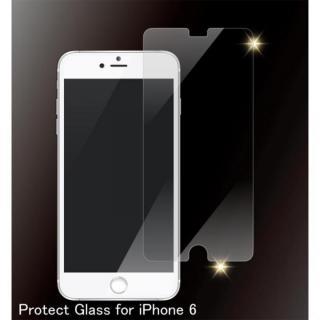 【iPhone6フィルム】[0.4mm]クリア 強化ガラス iPhone 6_1