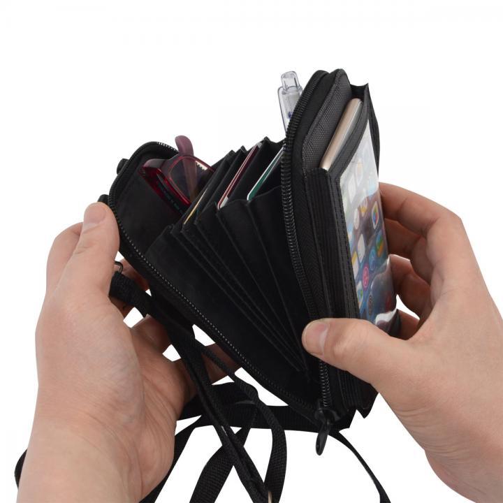 iPhone6/6 Plus ケース 必要なもの全て入るスマホタッチバッグ_0