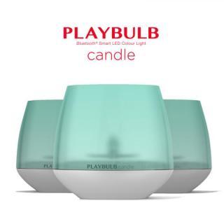 スマートフォン連動LEDキャンドル PLAY BULB 3個セット