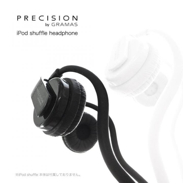 iPod Shuffleをダイレクトに装着 PRECISION iPod shuffle HP-S103 ブラック_0