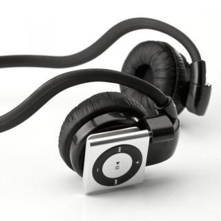 ヘッドホン iPod Shuffle ブラック