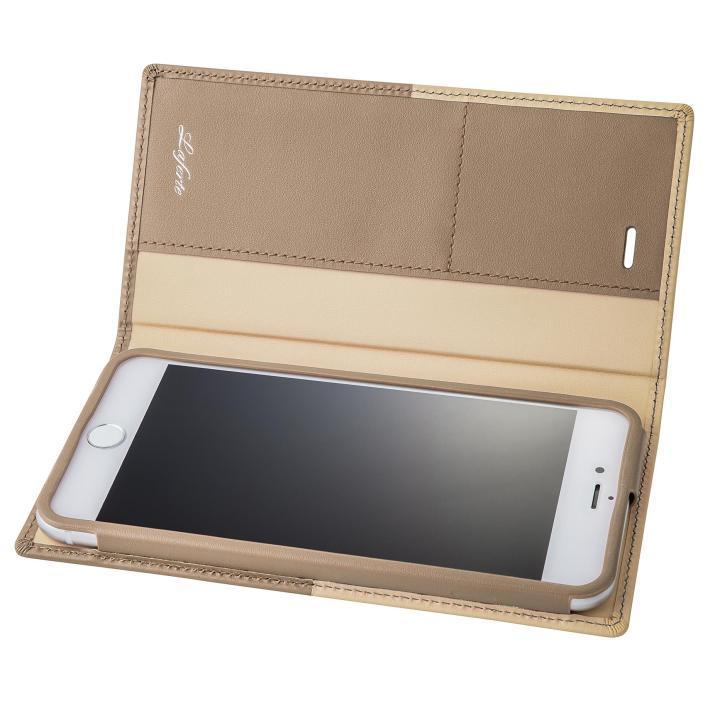 iPhone8 Plus/7 Plus ケース GRAMAS フルレザー手帳型ケース TRICO ベージュ iPhone 8 Plus/7 Plus_0