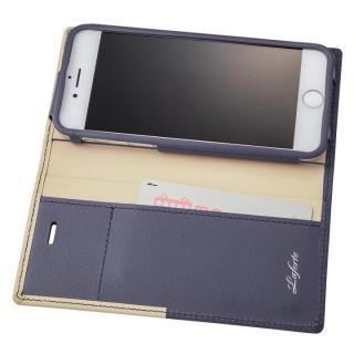 【iPhone8/7ケース】GRAMAS フルレザー手帳型ケース TRICO ネイビー iPhone 8/7_1