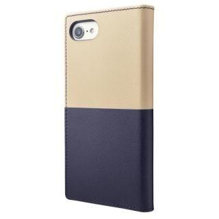 【iPhone8/7ケース】GRAMAS フルレザー手帳型ケース TRICO ネイビー iPhone 8/7_2