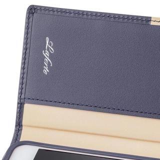 【iPhone8/7ケース】GRAMAS フルレザー手帳型ケース TRICO ネイビー iPhone 8/7_4