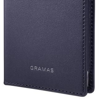 【iPhone8/7ケース】GRAMAS フルレザー手帳型ケース TRICO ネイビー iPhone 8/7_7