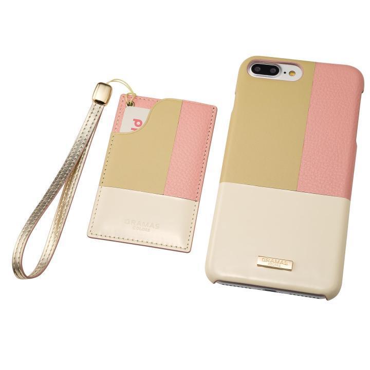 GRAMAS COLORS レザーケース Nudy ピンク iPhone 8 Plus/7 Plus