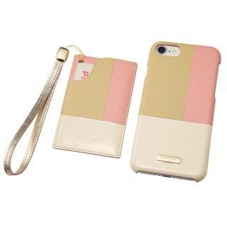 GRAMAS COLORS レザーケース Nudy ピンク iPhone 8/7