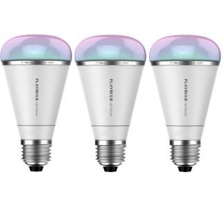 スマートフォン対応LED電球 PLAY BULB RAINBOW 3個セット