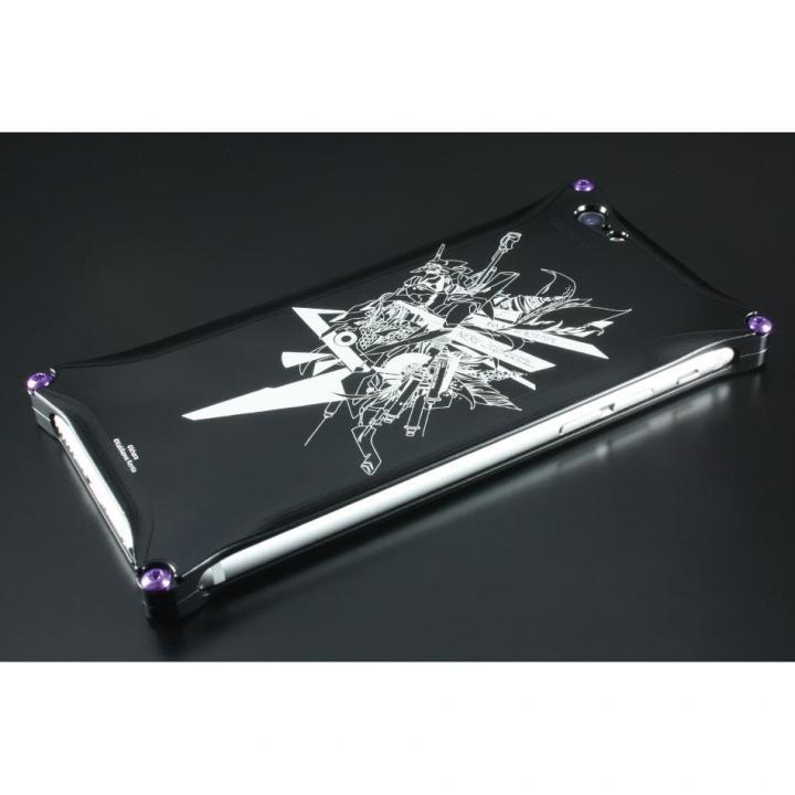【iPhone6s/6ケース】RADIO EVA×GILDdesign Abstract ソリッドケース初号機 ブラック iPhone 6s/6_0