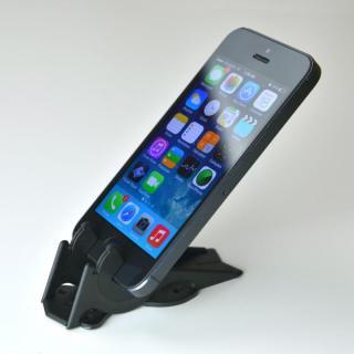 カード型の薄いiPhoneスタンド ピタゴラスタンド Pocket Tripod ブラック