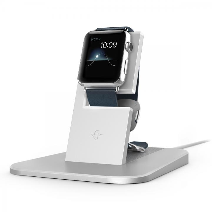 Apple Watch充電スタンド Twelve South HiRise シルバー_0