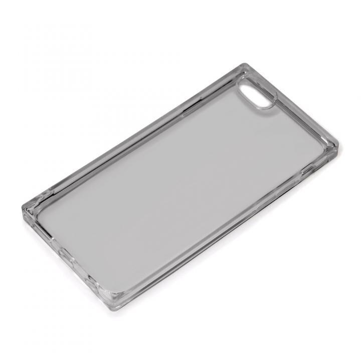 オールTPUケース クリアブラック iPhone SE 第2世代_0