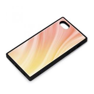 iPhone SE 第2世代 ケース ガラスハイブリッドケース オレンジ iPhone SE 第2世代