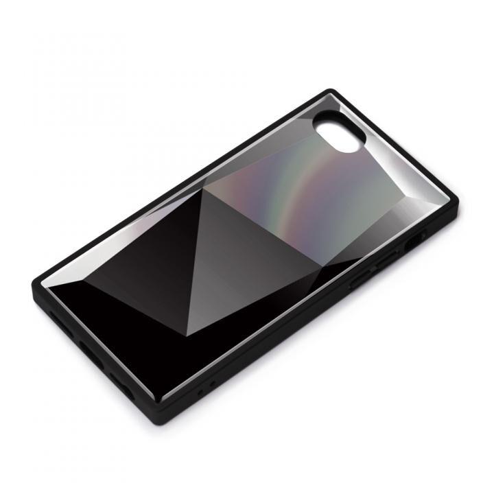 ガラスハイブリッドケース ダイヤ ブラック iPhone SE 第2世代_0