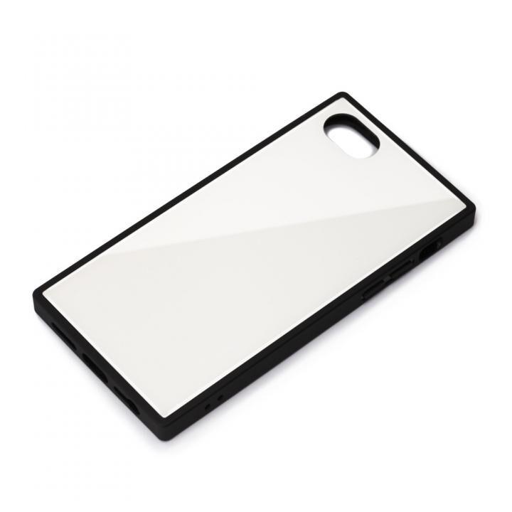 ガラスハイブリッドケース ホワイト iPhone SE 第2世代_0