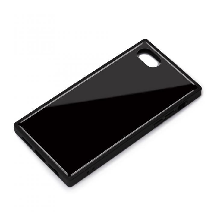 ガラスハイブリッドケース ブラック iPhone SE 第2世代_0