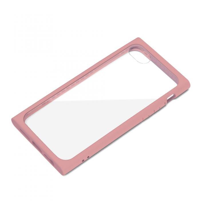 ガラスタフケース ピンク iPhone SE 第2世代_0